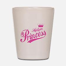 Haitian Princess Shot Glass