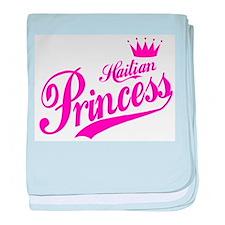 Haitian Princess baby blanket