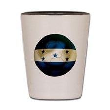 Honduras Football Shot Glass