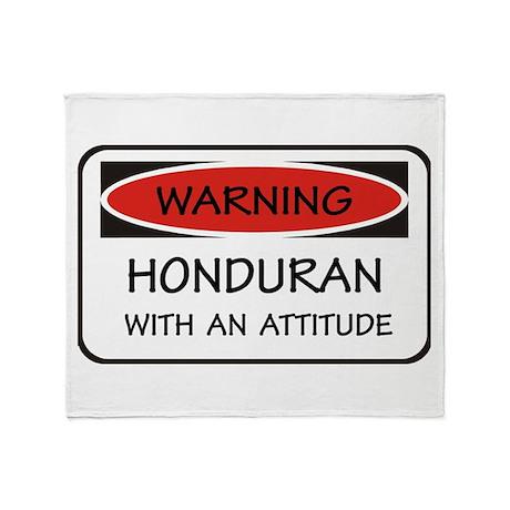 Attitude Honduran Throw Blanket