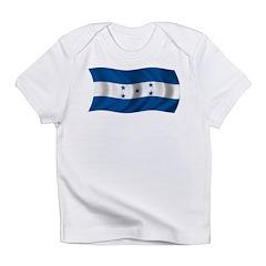 Wavy Honduras Flag Infant T-Shirt