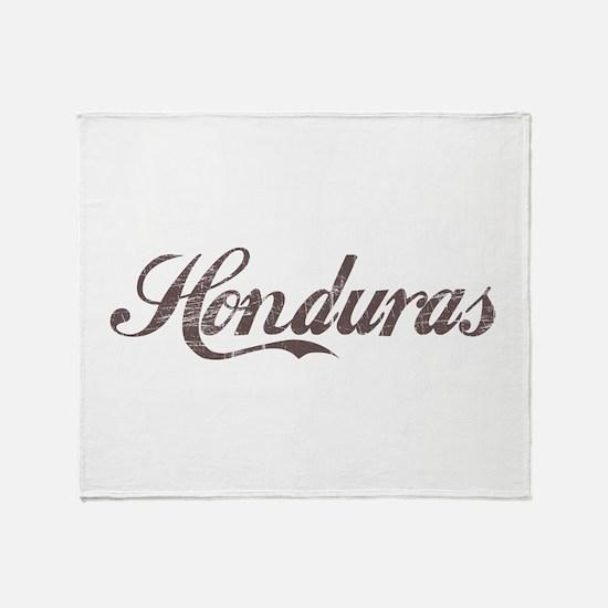Vintage Honduras Throw Blanket