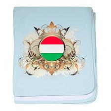 Stylish Hungary baby blanket