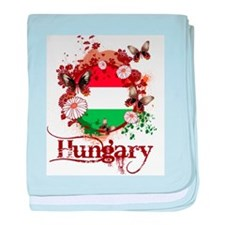 Butterfly Hungary baby blanket