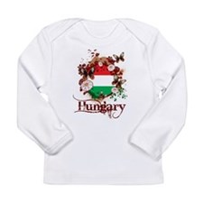 Butterfly Hungary Long Sleeve Infant T-Shirt
