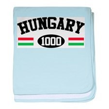 Hungary 1000 baby blanket