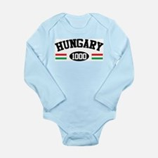 Hungary 1000 Long Sleeve Infant Bodysuit