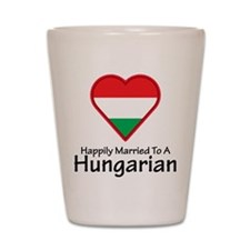 Happily Married Hungarian Shot Glass