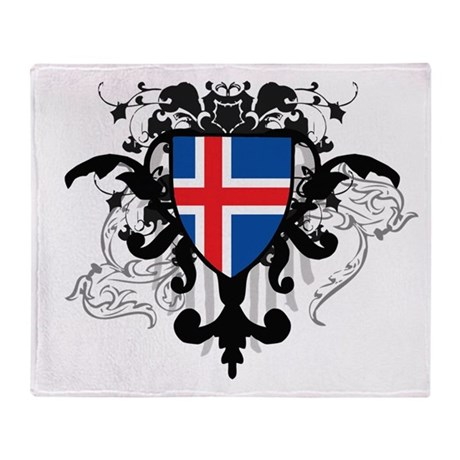 Stylish Iceland Throw Blanket