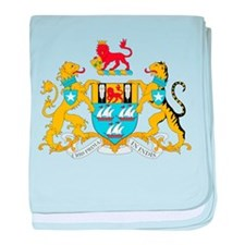 Mumbai Coat Of Arms baby blanket