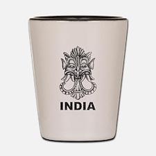 Vintage India Shot Glass