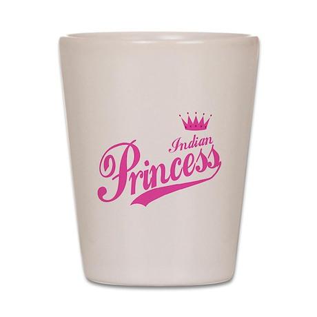 Indian Princess Shot Glass
