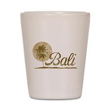 Palm Tree Bali Shot Glass