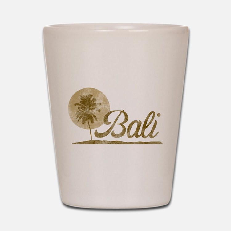 Palm Tree Bali Shot Glass