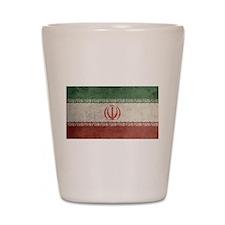 Vintage Iran Flag Shot Glass