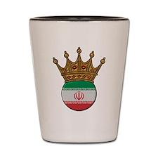 King Of Iran Shot Glass