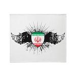 Iran Throw Blanket