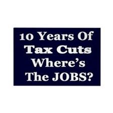 Where's the Jobs?? Rectangle Magnet