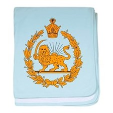 Persia Coat Of Arms baby blanket