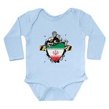 Hip Iran Long Sleeve Infant Bodysuit