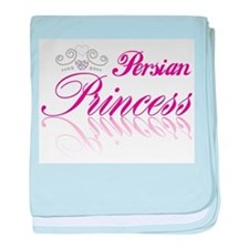 Persian Princess baby blanket