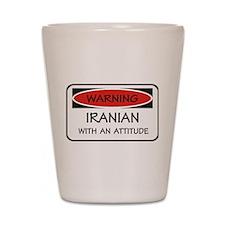 Attitude Iranian Shot Glass
