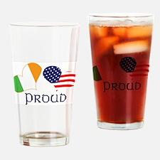 Proud Irish American Pint Glass