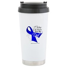 Dad Colon Cancer Awareness Travel Mug