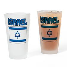 Israel Flag Pint Glass