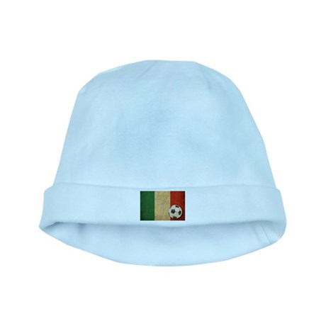 Vintage Italy Football baby hat