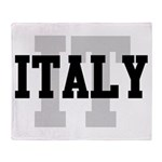 IT Italy Throw Blanket