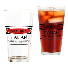 Attitude Italian Pint Glass