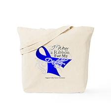 Daddy Colon Cancer Tote Bag