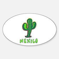 Mexico Cactus Decal