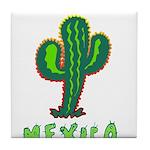 Mexico Cactus Tile Coaster