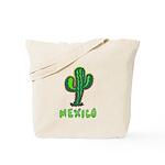 Mexico Cactus Tote Bag