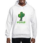 Mexico Cactus Hooded Sweatshirt
