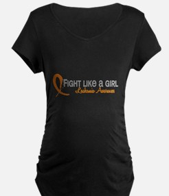 Licensed Fight Like a Girl T-Shirt
