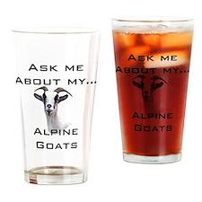 Goat Ask Alpine Pint Glass