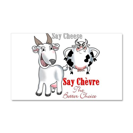 Goat- Say Cheese Car Magnet 12 x 20