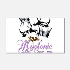 Myotnic Goat Love'em Car Magnet 12 x 20