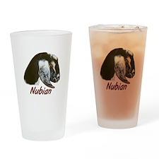 Goat-Nubian-Crystal Pint Glass