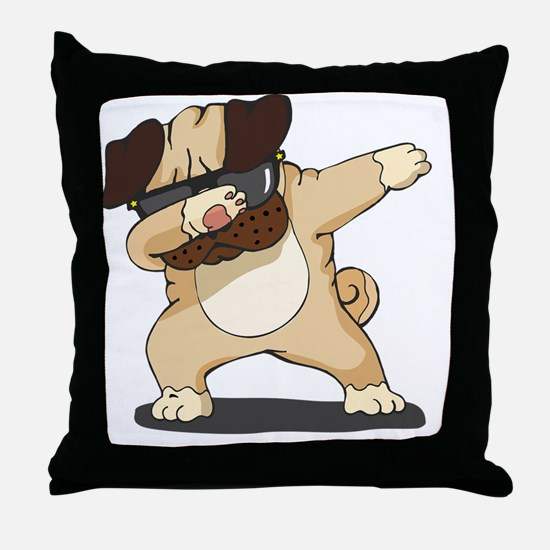 Cute Hip hop Throw Pillow