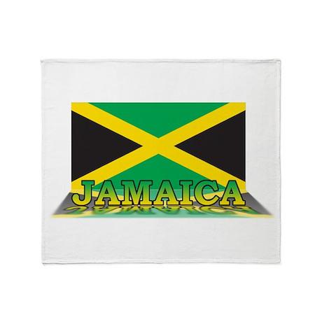 3D Jamaica Throw Blanket