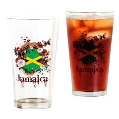 Butterfly Jamaica Pint Glass