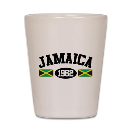 Jamaica 1962 Shot Glass