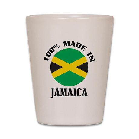 Made In Jamaica Shot Glass