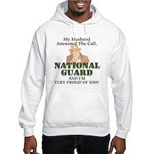 National Guard Husband Hoodie