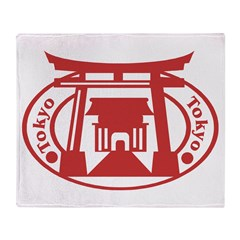 Tokyo Throw Blanket