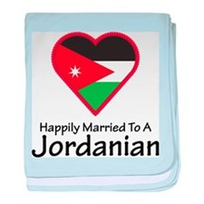 Happily Married Jordanian baby blanket